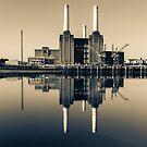 Batersea Power Station Split Tone by Stuart  Gennery