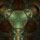 Passage Through The Multiverse by Craig Hitchens - Spiritual Digital Art
