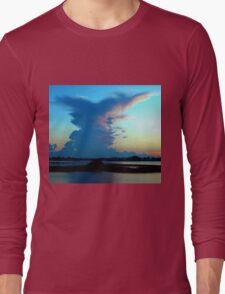 Blue dominance Long Sleeve T-Shirt
