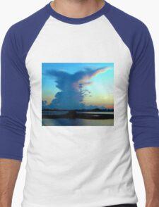 Blue dominance Men's Baseball ¾ T-Shirt