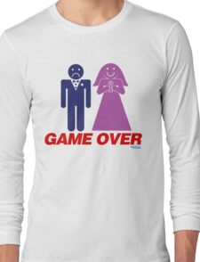 Game Over Marriage Long Sleeve T-Shirt