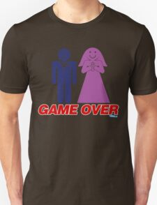 Game Over Marriage Unisex T-Shirt