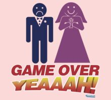 Game Over Yeeaaahhh! Marriage Kids Clothes