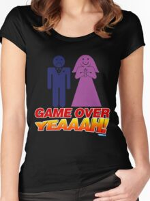 Game Over Yeeaaahhh! Marriage Women's Fitted Scoop T-Shirt
