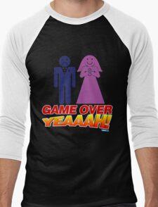 Game Over Yeeaaahhh! Marriage Men's Baseball ¾ T-Shirt