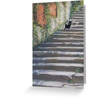 Stairway to Tuscany Greeting Card