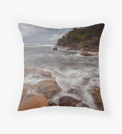 Satin Rocks Throw Pillow
