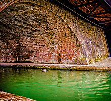 Hungerford Bridges by mlphoto