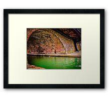 Hungerford Bridges Framed Print