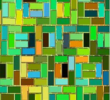 colorful tiles by RosiLorz