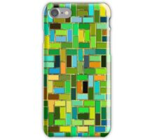 colorful tiles iPhone Case/Skin