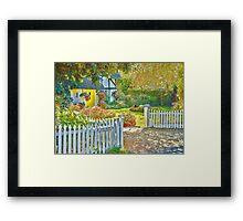 Little Newton Cottage Framed Print