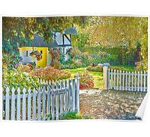 Little Newton Cottage Poster