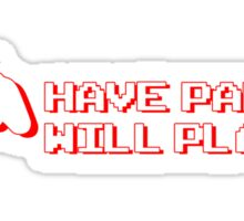 Have Pad Will Play Sticker