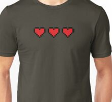 Heart Containers Unisex T-Shirt