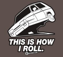 "Top Gear - Reliant Robin ""This is how I roll."" Kids Clothes"