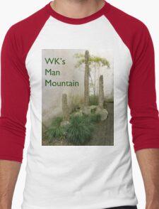 WK's Man Mountain Men's Baseball ¾ T-Shirt