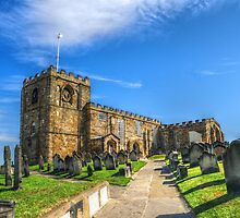 St. Mary's Church Whitby by Stephen Walton
