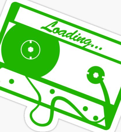Loading Sticker