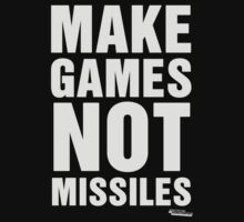 Make Games Not Missiles One Piece - Long Sleeve