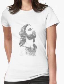 Jim Morrison Womens Fitted T-Shirt