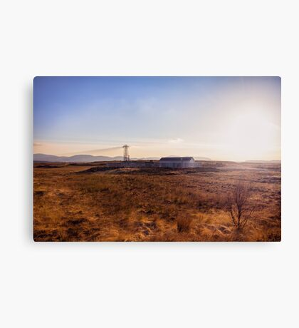 Somewhere in Donegal Canvas Print