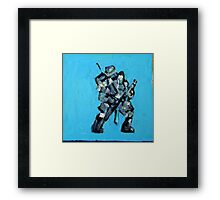 SPACE SOLDIER Framed Print