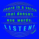 r15~ without words... LISTEN! by TeaseTees