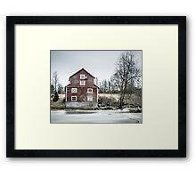 Old Mill 2 Framed Print