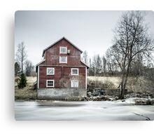 Old Mill 2 Canvas Print