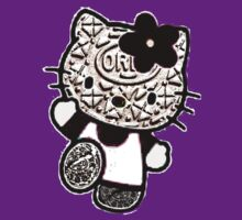 Hello Cookie ( Hello kitty) Oreo cookie by linwatchorn