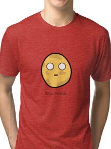 War Potato Tri-blend T-Shirt
