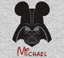 Darth Vader with Mickey Mouse ears PERSONALIZE IT! ~BUBBLEMAIL ME FOR YOUR LISTING~  by sweetsisters