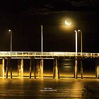Moonlight Jetty by Mary Jane Foster