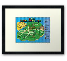 Super Edinburgh World Framed Print