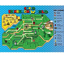 Super Edinburgh World Photographic Print