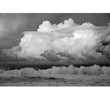 Cumulus Whitewash  Photographic Print