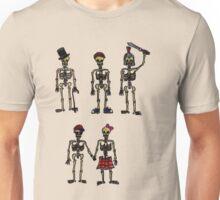 Skeletons tee shirt Unisex T-Shirt