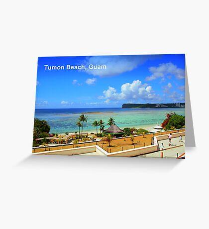 Tumon Bay, Guam Greeting Card