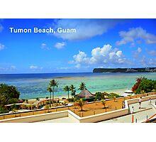 Tumon Bay, Guam Photographic Print