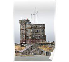 Cabot Tower, Newfoundland. Poster