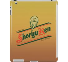 Shoryuken pale pilsen iPad Case/Skin
