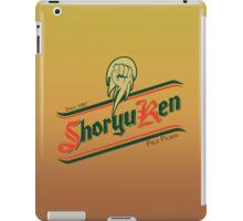 Shoryuken pale pilsen iPad Case/Skin