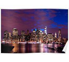 New York Skyline from Brooklyn Heights Promenade Poster