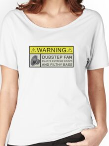 Dubstep Warning Women's Relaxed Fit T-Shirt