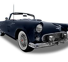 Ford - 1956 Thunderbird Roadster Convertable by axemangraphics