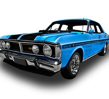 Ford - 1971 XY GT Falcon Sedan by axemangraphics