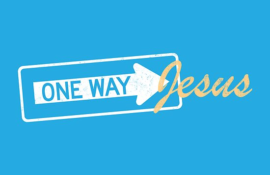 One Way Jesus by s2ray