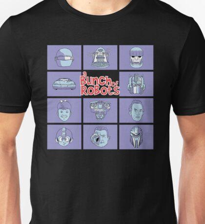 A Bunch of Robots Unisex T-Shirt