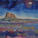 'Lindisfarne Castle' by Martin Williamson (©cobbybrook)